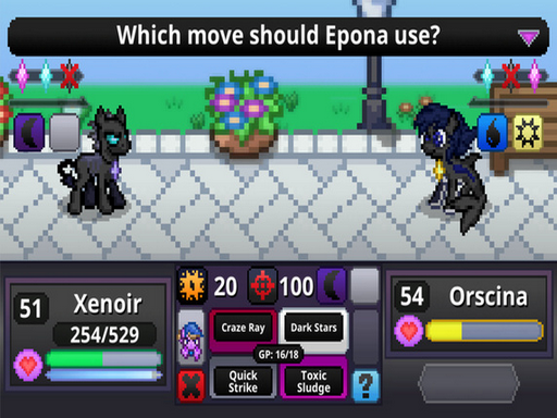 Battle Gem Ponies RMXP Hacks