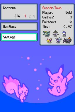DittoWare: Pokemon Game Engine Screenshot