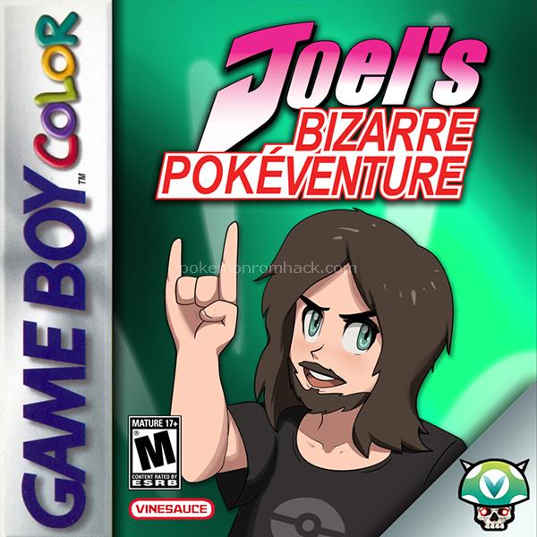 Joel's Bizarre Pokeventure GBC ROM Hacks