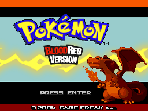Pokecurse: BloodRed Version Screenshot