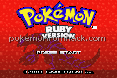 Pokemon Abandoned Ruby Screenshot