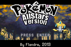 Pokemon AllStars Version GBA ROM Hacks