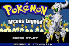 Pokemon Arceus Legend Screenshot