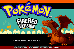 Pokemon Blazing Red Screenshot