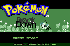 Pokemon Breakdown! GBA ROM Hacks