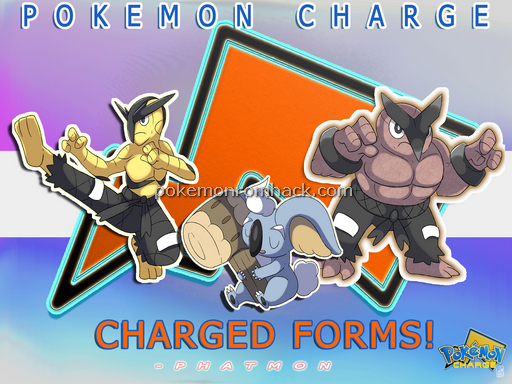 Pokemon Charge RMXP Hacks