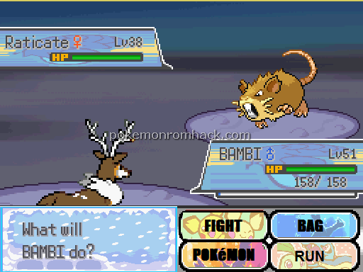 Pokemon Christmas Night RMXP Hacks
