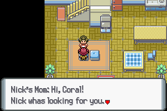 Pokemon Coral Screenshot