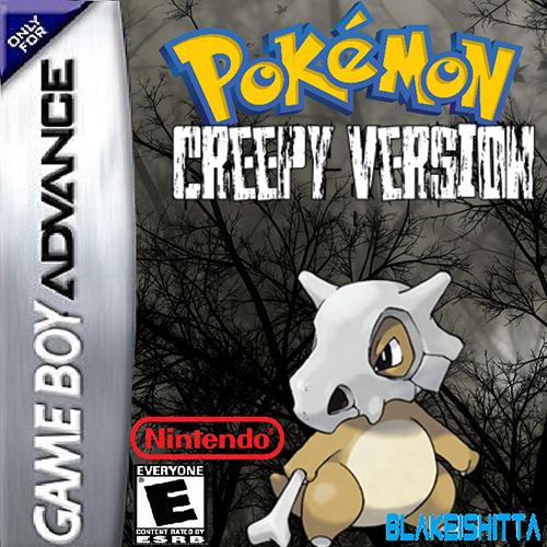 Pokemon Creepy GBA ROM Hacks