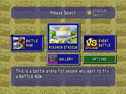 Pokemon Cross Stadium N64 ROM Hacks