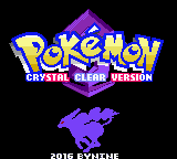 Pokemon Crystal Clear GBC ROM Hacks