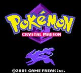 Pokemon Crystal Maeson GBC ROM Hacks
