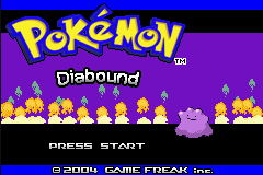 Pokemon Diabound GBA ROM Hacks