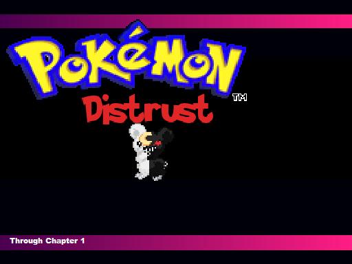 Pokemon Distrust RMXP Hacks