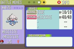 Pokemon Double Battle Screenshot