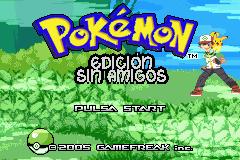 Pokemon Edicion Sin Amigos GBA ROM Hacks