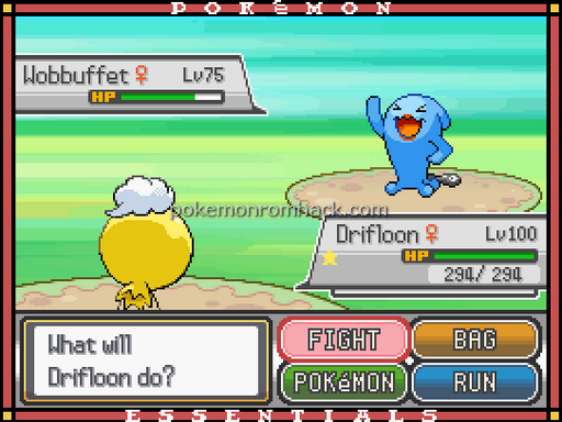 Pokemon Epitaph Screenshot