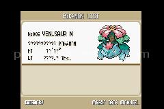 Pokemon Experimental Red Screenshot