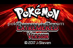 Pokemon Extreme Red GBA ROM Hacks