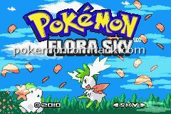 Pokemon Flora Sky Rebirth GBA ROM Hacks