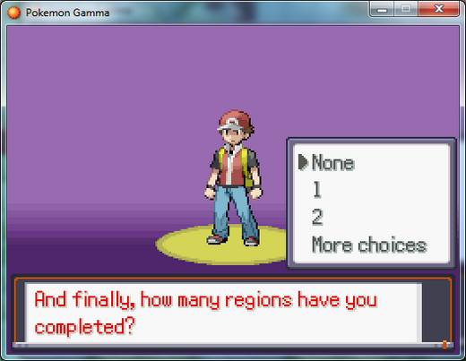 Pokemon Gamma RMXP Hacks