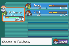 Pokemon Gary Edition Screenshot