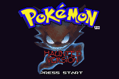 Pokemon Haunted GBA ROM Hacks