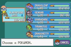 Pokemon Mega Evo Red & Green Screenshot