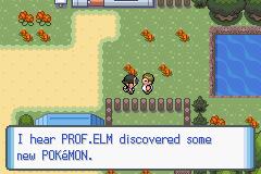 Pokemon: Mind Crystal Screenshot