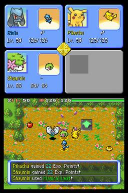 Pokemon Mystery Dungeon Explorers Of Skies NDS ROM Hacks