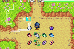 Pokemon Mystery Dungeon Green Rescue Team GBA ROM Hacks