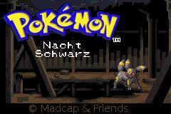 Pokemon Nachtschwarz GBA ROM Hacks