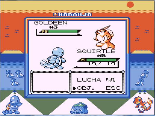 Pokemon Naranja '99 GBC ROM Hacks