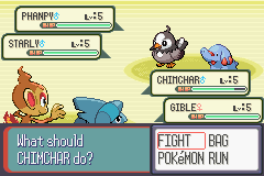 Pokemon Next Generation Screenshot