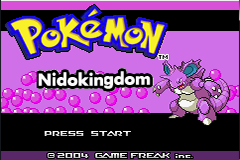 Pokemon Nidokingdom GBA ROM Hacks