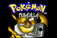 Pokemon Pesadilla 2.0 GBA ROM Hacks