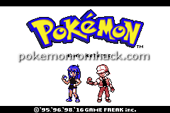 Pokemon RED RETURNS GBA ROM Hacks