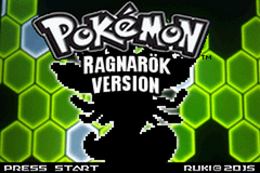 Pokemon Ragnarök GBA ROM Hacks