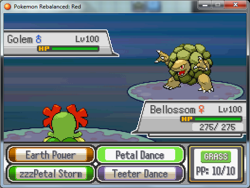 Pokemon Rebalanced: Red RMXP Hacks
