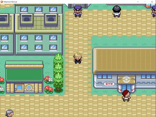 Pokemon Revival RMXP Hacks