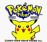 Pokemon STRIKE! Yellow Version GBC ROM Hacks