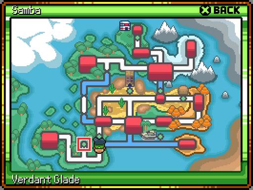 Pokemon Samba: A Brazil Inspired Fangame RMXP Hacks