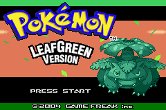 Pokemon Sea Green Advance Screenshot