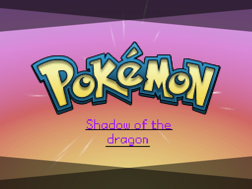 Pokemon Shadow of the dragon RMXP Hacks