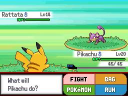 Pokemon Sigma Version Screenshot