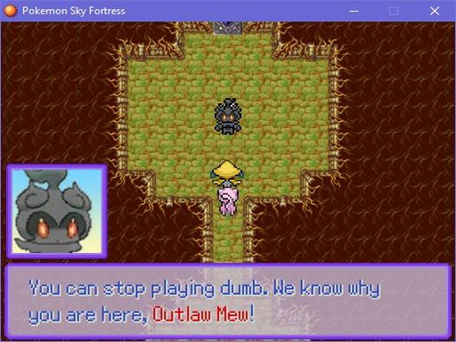 Pokemon Sky Fortress Screenshot