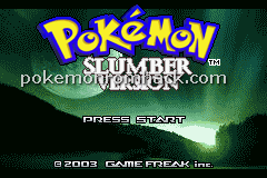 Pokemon Slumber GBA ROM Hacks