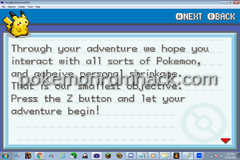 Pokemon Stupid Version Screenshot
