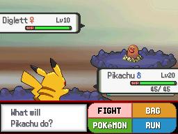 Pokemon Style Battling (Untitled Project) Screenshot