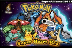 Pokemon Super Heart Red GBA ROM Hacks